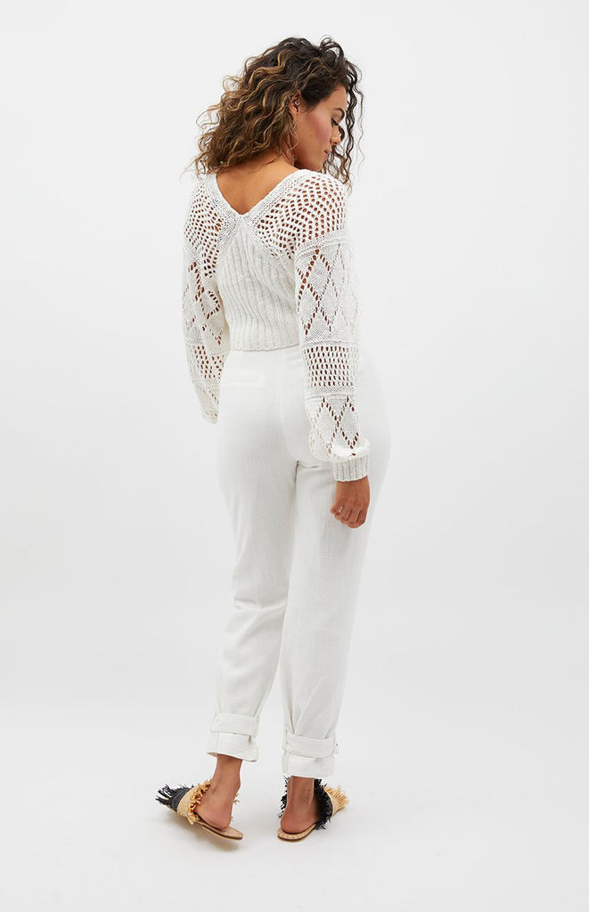 Minkpink Margot Crochet Knit Jumper