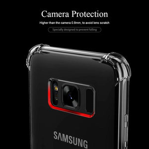 Phone Case - Super Shockproof Transparent Soft TPU Case For Samsung S8/S8 Plus