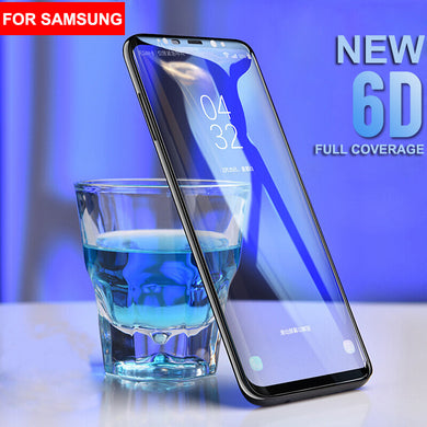 Screen Protector - 6D Curved Edge Tempered Glass For Samsung S8 S8 Plus S9 S9 Plus S7 Edge Note 8 Note 9