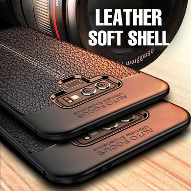 Phone Case - Luxury Shockproof PU Leather Case For Samsung Note 9 Note 8 S10 S9 S8 Plus S7 Edge