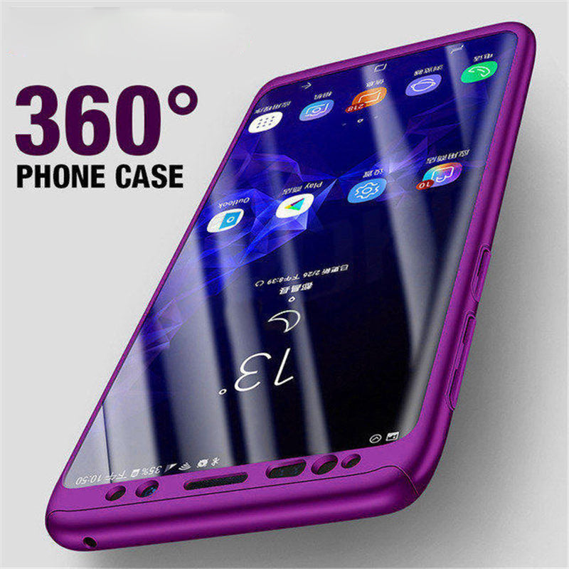 new concept ed4c0 db80a Phone Case - Luxury 360 Degree Full Cover Shockproof Case For Samsung S9 S9  Plus S8 S8 Plus Note9 Note8 S7 S7 Edge