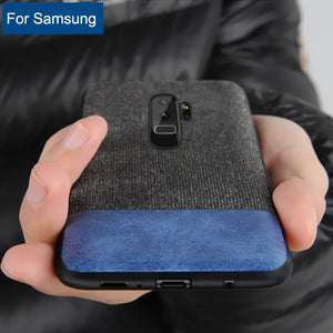 Phone Case - Luxury Shockproof Business Back Cover For Samsung S8 S8 Plus S9 S9 Plus Note 8 Note 9