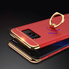 Load image into Gallery viewer, Phone Case - Shockproof Armor Metal Ring Holder Case For Samsung Galaxy S8/S8 Plus
