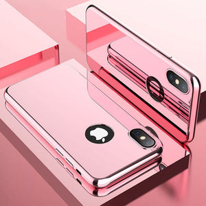 Phone Case - Luxury Bling Ultra Thin 360 Full Protection Cover For iPhone