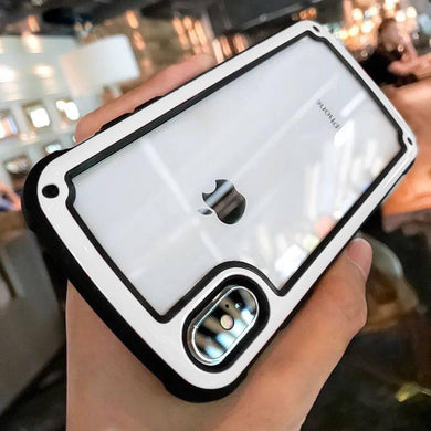 Phone Case - Luxury Transparent Shockproof Airbag Case Cover For iPhone X XR XS Max 8 7 6 6S Plus