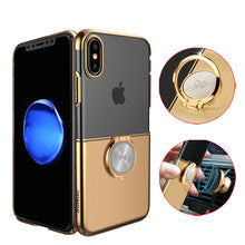 Load image into Gallery viewer, Phone Case - Luxury Magnet Ring Armor Shockproof Phone Case For iPhone X XR XS XS Max