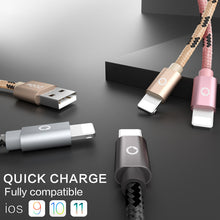 Load image into Gallery viewer, Charger Cable - Fast Charging USB Cable For iPhones