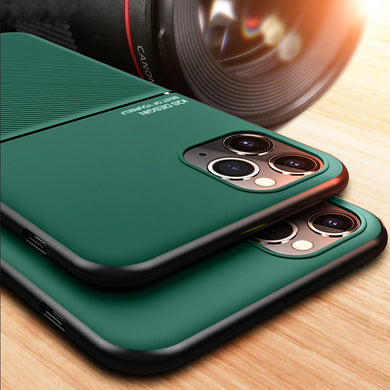 Phone Case - Luxury Ultra-thin Shockproof Magnetic Soft Silicone Case For iPhone 11 Pro XS MAX XR X 7 8 6 6S Plus
