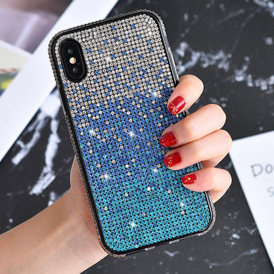 Phone Case - Luxury Glitter Diamond Bling Case Cover For iPhone X XR XS MAX 8 7 6 6s Plus