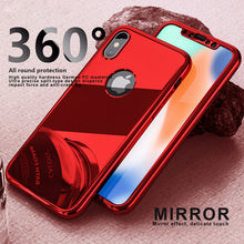 Load image into Gallery viewer, Phone Case - Luxury Ultra Thin 360 Full Protection Cover For For iPhone X 7 6 6S Plus