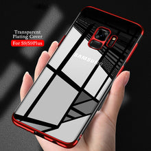 Load image into Gallery viewer, Phone Case - Transparent Soft TPU Plating Case For Samsung Galaxy S9 S9 Plus