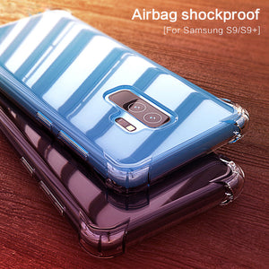 Phone Case - Airbag Shockproof Full Protection Case For Samsung S9 S9 Plus S8 S8 Plus Note 8