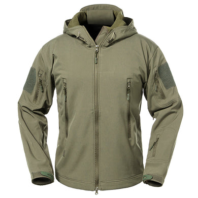 Jackets - Mens Military Camouflage Waterproof Jacket