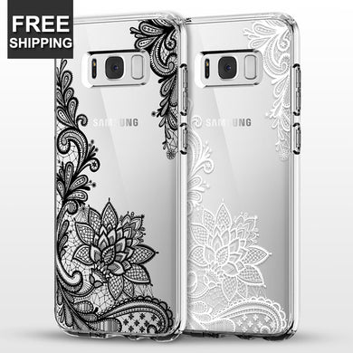 Phone Case - Fashion Mandala Flower Phone Case For Samsung S9 S9 Plus S8 S8 Plus Note 8 S7 S7 Edge
