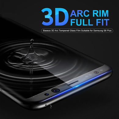 Screen Protector - Premium 3D Arc Tempered Glass For Samsung