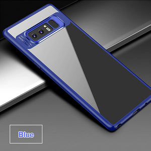 Phone Case - Luxury Ultra-thin Transparent Soft Edge Hard Acrylic Case for Samsung Note 8