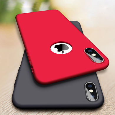 Phone Case - Luxury Ultra Thin Hard Matte Cover Case For iPhone XS XS MAX X 8 7 6 6s Plus