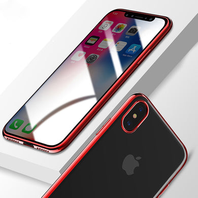 Phone Case - Luxury Ultra Thin Full Protection Plating Case For iPhone X 8 8 Plus