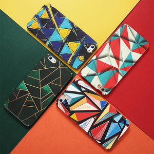 Phone Case - Fashion Colorful Abstract Hard PC iPhone Case