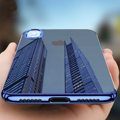 Phone Case - Ultra Thin Plating Back Cover Case For iPhone X