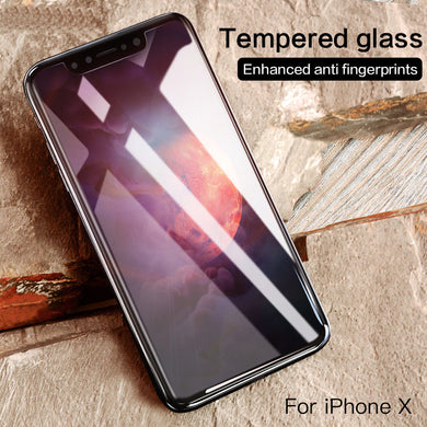 Screen Protector - Anti-Scratches Tempered Glass For iPhone X