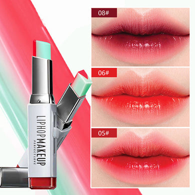 Lipstick - Waterproof Double Color Gradient Lipstick