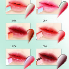 Load image into Gallery viewer, Lipstick - Waterproof Double Color Gradient Lipstick