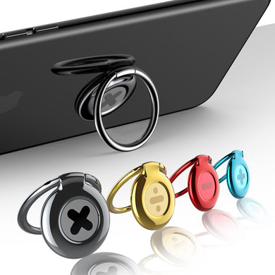 Phone Holder - Universal 360 Rotation Finger Ring Holder Stand For iPhone & Samsung