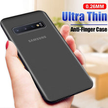 Load image into Gallery viewer, Phone Case - Luxury 0.26mm Ultra Thin Shockproof Matte Case For Samsung Galaxy S10e S10 S9 S8 Plus Note 9 8