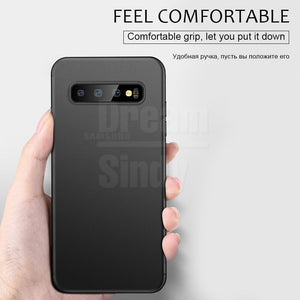 Phone Case - Luxury 0.26mm Ultra Thin Shockproof Matte Case For Samsung Galaxy S10e S10 S9 S8 Plus Note 9 8