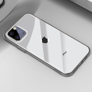 Phone Case - Ultra Thin Soft TPU Silicone Clear Case For iPhone 11 Pro Max X XR XS Max