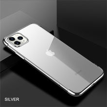 Load image into Gallery viewer, Phone Case - Luxury Plating Clear Soft TPU Case For iPhone 11 Pro Max X XR XS Max 8 7 6 6s Plus