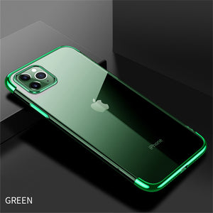 Phone Case - Luxury Plating Clear Soft TPU Case For iPhone 11 Pro Max X XR XS Max 8 7 6 6s Plus