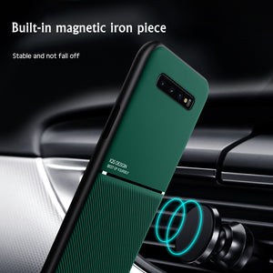 Phone Case - Luxury Ultra-thin Shockproof Magnetic Soft Silicone Case For Samsung S20 Ultra S10 e S9 S8 Plus Note 10 9 8 Pro