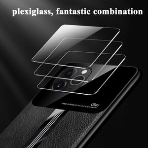 Phone Case - Luxury Shockproof PU Leather Mirror Screen Case For iPhone 11 Pro X XS XR MAX 8 7 6 6s Plus