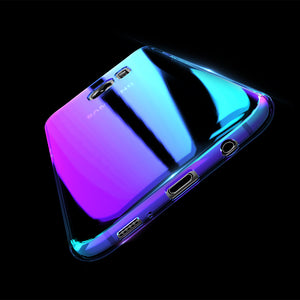 Phone Case - Blue Ray Gradient Case For SAMSUNG