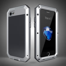 Load image into Gallery viewer, Phone Case - Luxury Doom Armor Dirt Shock Waterproof Metal Aluminum iPhone Case