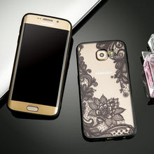 Load image into Gallery viewer, Phone Case - Hot Sexy Lace Vintage Flower Pattern Phone Case For Samsung