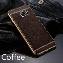 Load image into Gallery viewer, Phone Case - Luxury Leather 360 Degree Shockproof Cover For Samsung S7/S7 Edge