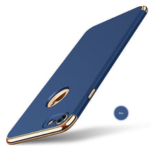 Load image into Gallery viewer, Phone Case - Luxury Shockproof Plating Metal Texture iPhone Case