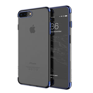 Phone Case - Ultra-thin Plating Soft Cover For iPhone 8/8Plus/X