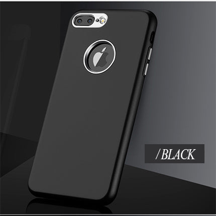 Phone Case - Ultra Thin Soft Silicone + Metal Bumper Case For iPhone