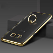 Load image into Gallery viewer, Phone Case - Luxury Shockproof Plating Case With Ring Holder For Samsung S8 Plus
