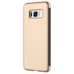 Phone Case - Transparent Full Window Flip Case For Samsung S8 & S8 Plus