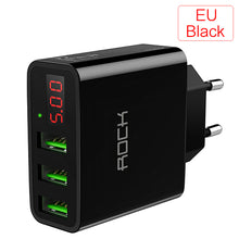 Load image into Gallery viewer, Quick Charger - Universal LED Display 3 USB Charger