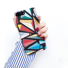 Load image into Gallery viewer, Phone Case - Fashion Colorful Abstract Hard PC iPhone Case