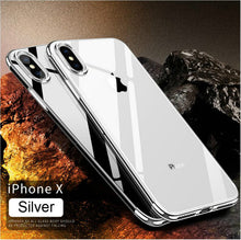 Load image into Gallery viewer, Phone Case - Luxury Original Ultra Thin Transparent Plating Protective iPhone Case