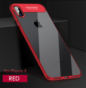 Phone Case - Luxury Plating Ultra Thin Full Protection Case For iPhone X