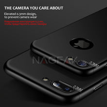 Load image into Gallery viewer, Phone Case - 360 Full Body Protective Case + Tempered Glass For iPhone 6 6S 7 8 Plus