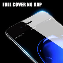 Load image into Gallery viewer, Screen Protector - 4D Edge Full Cover Round Protective Tempered Glass For iPhone X 8 7 6 6S Plus
